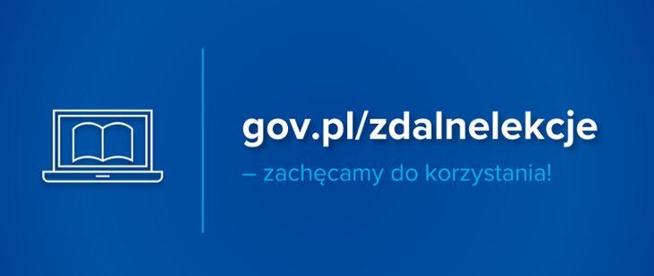 Serwis gov.pl/zdalnelekcje