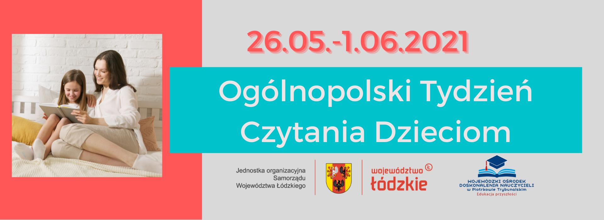 Ogólnopolski Tydzień Czytania Dzieciom 2021